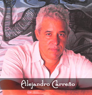 Artist Alejandro Carreno