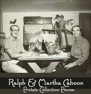 Ralph and Martha Cahoon