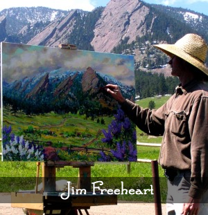 Artist Jim Freeheart