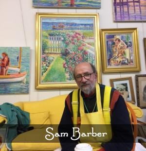 Artist Sam Barber