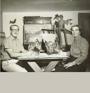 Ralph & Martha Cahoon
