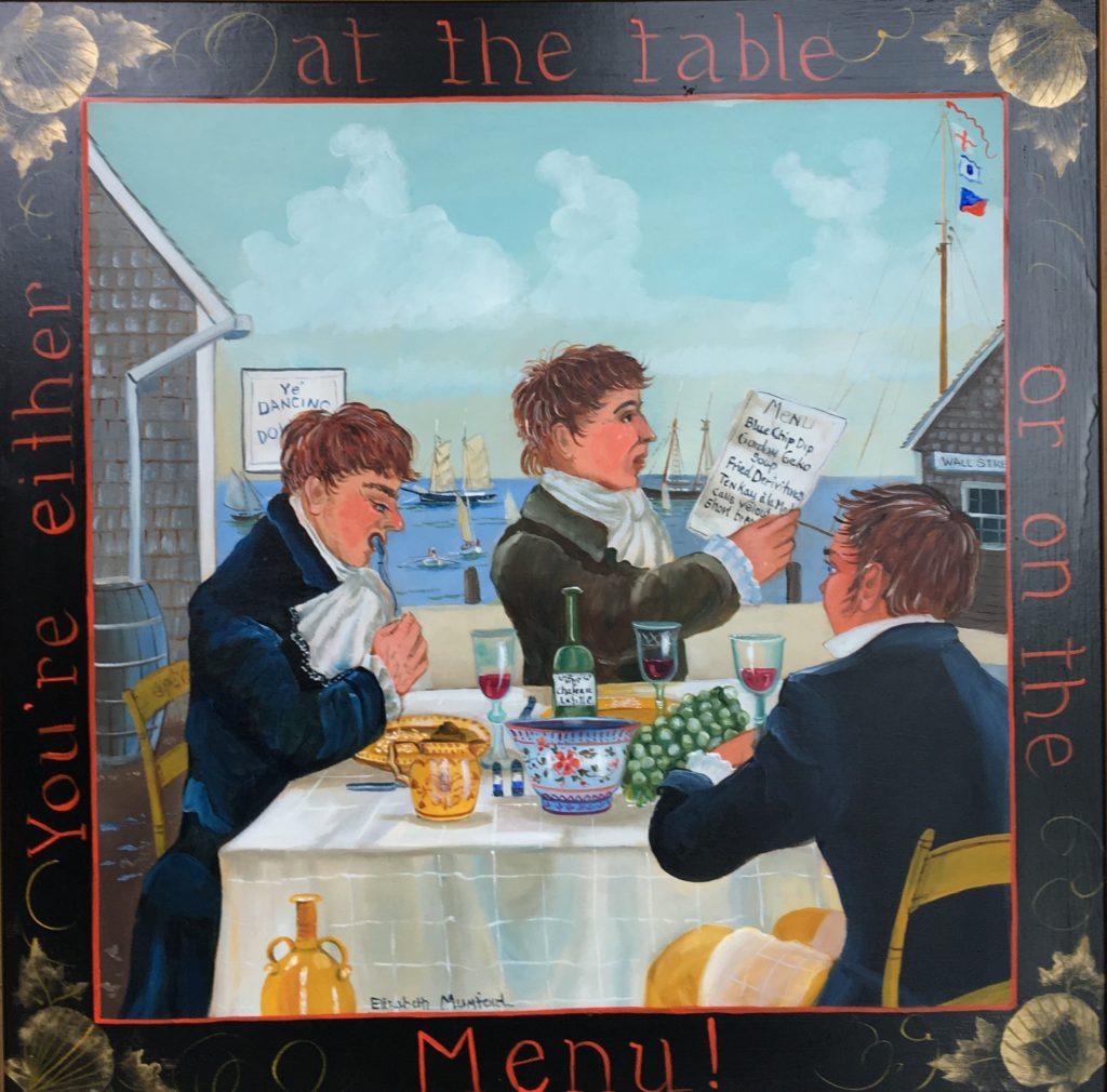 Elizabeth Mumford - At the table