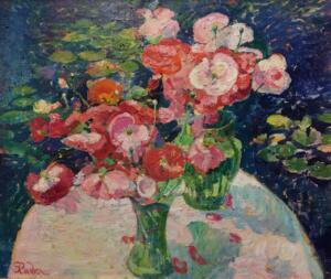 POPPY BOUQUETS  |  Oil on canvas  |  22 x 26  |  28 x 32 Framed  |  $9000
