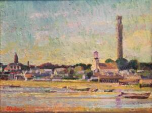 PROVINCETOWN  |  Oil on canvas  |  14 x 18  |  17 x 21 Framed  |  $6000