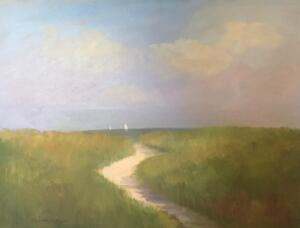 A SUMMER DAY  | Oil on canvas  |  18 x 24 | $2200