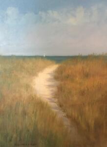 BEACH PATH | Oil on canvas | 18 x 24 | $2200