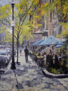 BOSTON BLUE |  Oil on canvas |  40 x 30  |  $2000