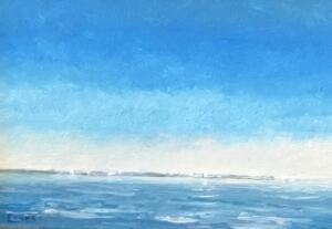 BRILLIANT DAY  |  Oil on canvas  |  8 x 10  |  13.5 x 15.5 Framed  |  $650