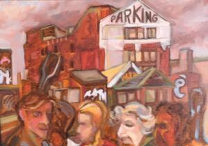BERKLEY BOUND BOSTON |  9 x 12  |  Framed  | Oil on canvas |  $450
