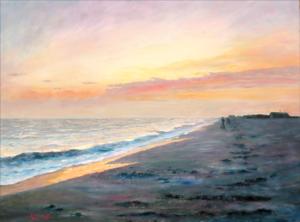 DAYBREAK |  18 x 24  |  Oil on Canvas  |  24 x 30 Framed  |  $2800