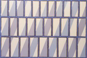 Diagonal Grid No1  |  Oil on canvas  |  26 x 38   |  $3250