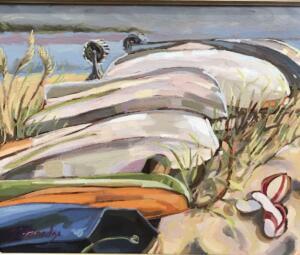 DINGIES  |  Oil on canvas  |  11 x 14  |  $600