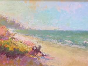 TROPICAL BREEZES  |   Oil on board  |  11 x 14  | 16 x 19 Framed  |  $900