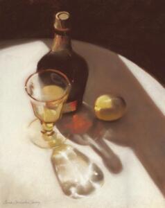 IN VINO VERITAS  |  Pastel on paper  |  17 x 13.5  |  26.5 x 22.5 Framed  |  $2400