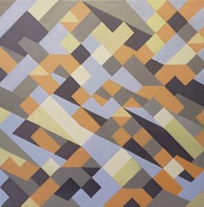 Introspective  |  Oil on canvas   |  30 x 30  |   $2900