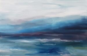 BLUE MIST  |  Oil on canvas  |  20 x 30  |  $1800