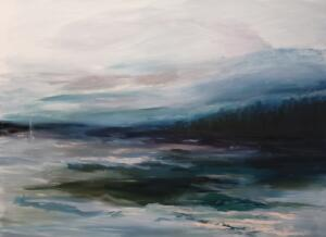 ETHERIAL BLUES  |  Oil on canvas  |  30 x 40  | $3800