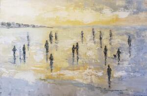 SPIRITS AMONG US |  Oil on canvas  |   24 x 36   |  $2600