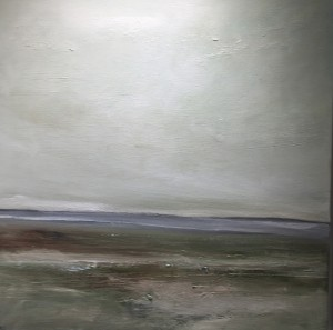 LOW TIDE  |  oil on canvas  | 20 x 20  | unframed  |  $1200