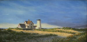 MORNING LIGHT |  Oil on board |  10 x 20 |  16 x 26 Framed |  $1050