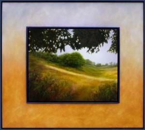 NAUSHON MEADOW  |  32 x 36  |  Oil on panel  |  32.75 x 36.75  Framed  |  $3000