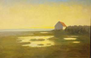 AT DUSK  |  Oil on canvas  |  30 x 40  |  32 x 42 Framed  |  $3900