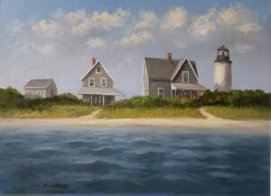 THE OLD LIGHTHOUSE  |  Oil on canvas  |  18 x 24  |  25 x 31 Framed  |  $2500