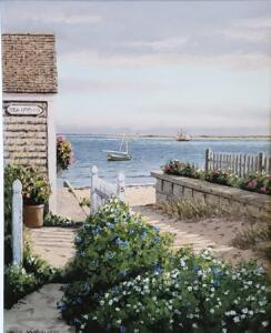 PROVINCETOWN LANDING |  |  Oil on canvas  |  16 x 20  |  22 x 26  Framed  |  $1600