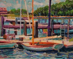 QUISSETT HARBOR  |  Oil on canvas  |  11 x 14  |  17.5 x 20.5 Framed  |  $5000