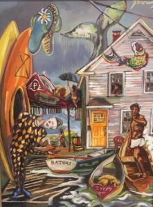 SANTORI  |  Oil on canvas  |  24 x 18  |  30 x 24 Framed  |  $1750