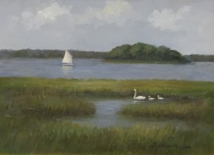 SPRING OUTING  |  Oil on board  |  9 x 12  |  15 x 18 Framed  |  $700