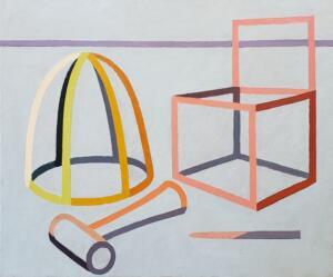 Still Life Abstraction   |  Oil on canvas   |  20 x 24   |  $1900