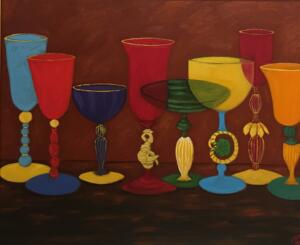 VINO |  Oil on canvas   | 20 x 24   |  27 x 31 Framed   | $2400