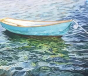 WATER MUSIC     Pastel on sanded paper     16 x 20     22 x 26 Framed     $950