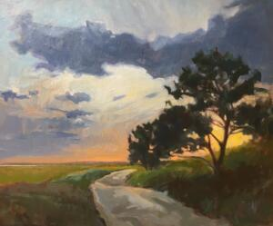 WHAT WAITS  |  Oil on canvas  |  25 x 30  |  29 x 34 Framed  |  $2400