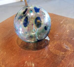 Witch Ball   |  Hand Blown Glass   |  $50