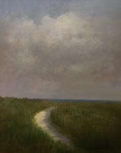 STORMY DAY  |  Oil on board  |  20 x 16  |  26 x 22 Framed  |  $1700