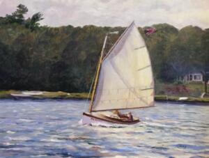 SMOOTH SAIL |  12 x 16  |  Oil on Canvas  |  17 x 21 Framed  |  $2200